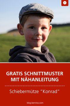 """a741ac2c78523 Kostenloses Schnittmuster mit Nähanleitung für die Schiebermütze """"Konrad""""   schnittmuster  nähen  mütze"""