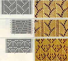 punto/ Knit on Pinterest | Tricot, Knitting and Knit Lace