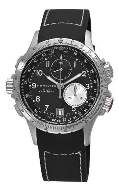 Hamilton Men's H77612333 Khaki ETO Black Chronograph Dial Watch Price – Hamilton Watches | Mens Watches Store & Reviews... Visit Site for more information and where to buy.