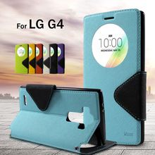 Original Phone Case For LG G 4 ROAR KOREA Diary View Window PU Leather Stand…