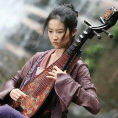 Liu Yifei in Forbidden Kingdom #hanfu