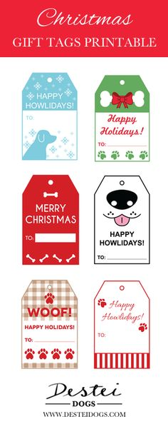 Dog Tags In The Darkest Hour Dog Tags With Rhinestones For Dogs Engraved Christmas Fair Ideas, Merry Christmas, Christmas Dog, Christmas Crafts, Christmas Gift Tags Printable, Christmas Labels, Free Christmas Printables, Christmas Wrapping, Free Printables