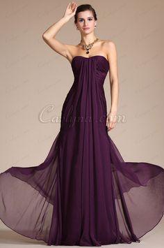 Carlyna 2014 New Graceful Purple Kim Kardashian Evening Dress Bridesmaid Dress (C00094706)