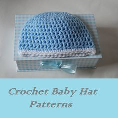 Free Easy # Crochet Baby Hat Patterns