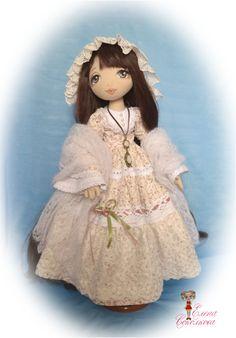 Ксения. Текстильная шарнирная кукла. | Куклы авторские | Игрушки | Uniqhand - интернет магазин авторских работ