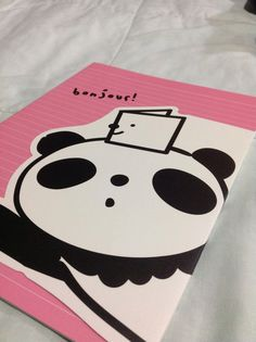 #Libretas    Panda