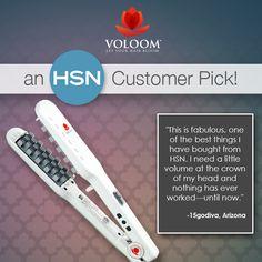 VOLOOM Hair Volumizing Iron - An HSN Customer Pick