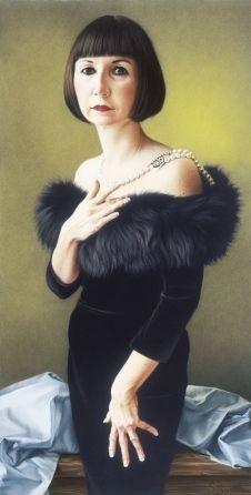Pastel chalk portrait by Simone Bingemer