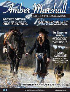 Amber Marshall's Place website, star of the show Heartland.