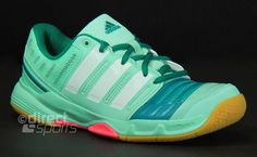 Adidas Court Stabil 11 Womens Frost Mint Court Shoes