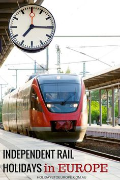 Independent rail holidays in Europe