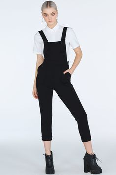 Staple- Push It Overalls ($109AUD) by BlackMilk Clothing