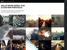 Espied template very great and modern. With a portfolio theme is designed specially for designers and photographers and artists. This theme's simple design interesting on your projects. We make sure...