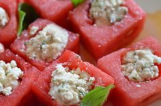 Watermelon, Feta, Mint Appetizer