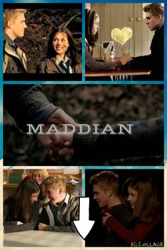 Maddian is just too cute