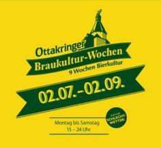 9 weeks that are fully dedicated to all about beer: the Brewing Culture Weeks take place at the Ottakringer Brewery. All Beer, Vienna, Brewery, Beer, Culture, Tips