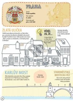 Prague Travel Guide, School Hacks, School Tips, Visit Prague, Teaching History, Elementary Science, Czech Republic, Geography, Kids Playing