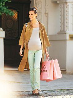 Schnittmuster: Umstandshose - Jerseybund - Hosen & Overalls - Umstandsmode - Damen - burda style