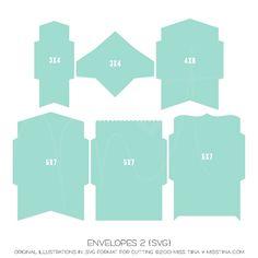 Envelopes 2 {SVG}
