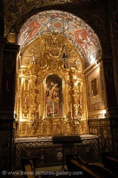 altar in the Cathedral, Granada, Andalucia, Spain, by Diego de Siloe