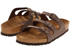 Birkenstock Florida Soft Footbed - Birkibuc Peacoat Birkibuc - Zappos.com Free Shipping BOTH Ways