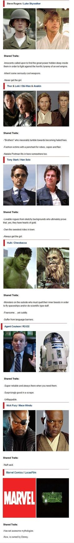 Star Wars VS. Avengers - funny pictures / funny pics / lol /  #humor #funny #funnypictures #funnypics
