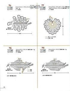 asashi crochet mini motif - Evlyn W - Picasa Albums Web Crochet Leaves, Crochet Motifs, Crochet Diagram, Crochet Doilies, Crochet Flowers, Crochet Stitches, Crochet Patterns, Bouquet Crochet, Japanese Crochet