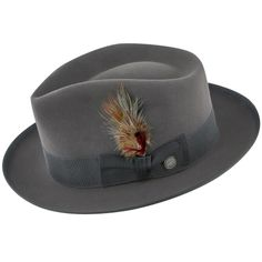 f21c80c19eb4c Lowest Price on Whippet - Stetson Fur Felt Fedora Hat - TFWIPTB. Stetson  Fedora