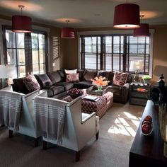 Living room colors & layout