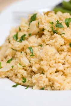 Sugar & Spice by Celeste: Ina Garten's Couscous with pine nuts
