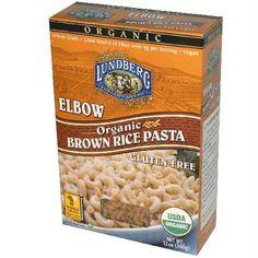 Lundberg Farms Elbow Brown Rice Pasta (12x12 Oz)