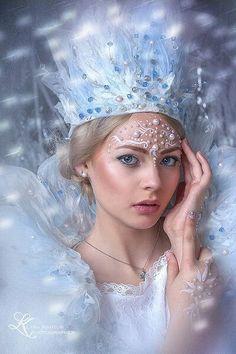 Winter Princess, Ice Princess, Fairy Makeup, Makeup Art, Mermaid Makeup, Fairy Fantasy Makeup, Snow Queen Makeup, Mode Lolita, Winter Fairy