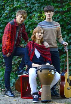 Lunafly beauty Yun, Teo & Sam <3