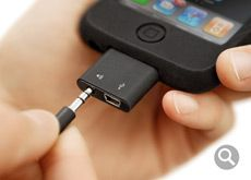 I want this so I can stop carrying around a cable just for my iphone.  Basically every computer accessory these days gets charged via mini usb.