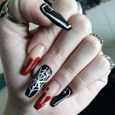 Creepy Cool Nail Art