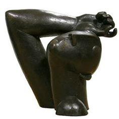 Bronze sculptures by Peter Harskamp (painter and sculptor)