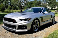 For Sale: 2017 Ford Mustang GT Roush Stage 3 (Supercharged, 5.0L V8, 6-speed auto, 8K miles)