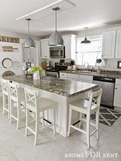 love this kitchen island