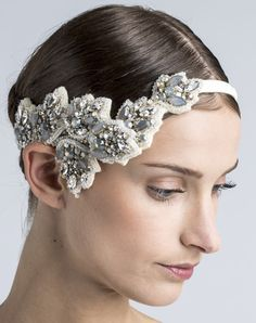 EMBROIDERED HEADBAND Swarovski strass ivory .  http://www.lanvin.com/e-lanvin/US//blanche/embroidered-wedding-headband-16821.html?color=Ivory&colorid=293#