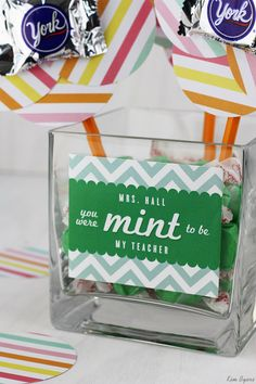 Cute back to school gifts for teachers.