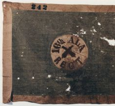 16th Alabama Infantry flag (Hardee pattern). :: Alabama Photographs and Pictures Collection