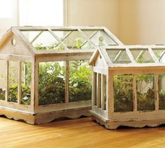 to make this Pottery Barn inspired wooden terrarium from dollar store picture frames!How to make this Pottery Barn inspired wooden terrarium from dollar store picture frames! Terrarium Diy, How To Make Terrariums, Terrarium Wedding, Glass Terrarium, Garden Crafts, Diy Garden Decor, Garden Projects, Garden Decorations, Indoor Greenhouse