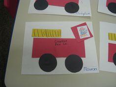 fire truck preschool craft - Google Search