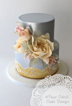 http://www.cakecoachonline.com - sharing...Prettiness from These Exquisite Wedding Cakes - MODwedding