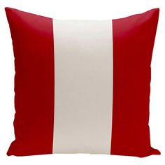 Big Stripe Vertical Decorative Throw Pillow