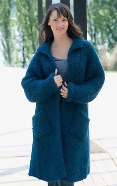 Ravelry: Swing Coat pattern by Helen Hamann