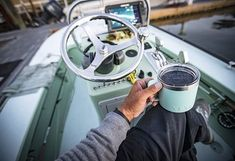 YETI Rambler 14 oz Stainless Steel Vacuum Insulated Mug with Lid Seafoam * Discover out more about the wonderful item at the photo link. (This is an affiliate link). Camping Wood Stove, Best Camping Stove, Tent Heater, Make A Mug, Insulated Mugs, Creature Comforts, Cold Meals, Camping With Kids, Rv Life
