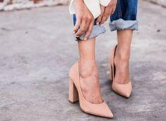 Scarpe moda: il tacco grosso | Vita su Marte