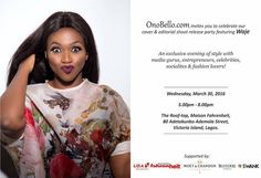 We are so excited about our sister friend at Ono Bello's  BIG event happening tomorrow Wednesday- March 30, 2016!  It is definitely going to be a classy ​evening of style where you can mix and network with media gurus, entrepreneurs, celebrities, socialites and fashion lovers!  Strictly by invitation. 😘 #OnoBello