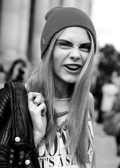 The Many Funny Faces of Cara Delevingne | Hint Fashion Magazine, and she's still perfection